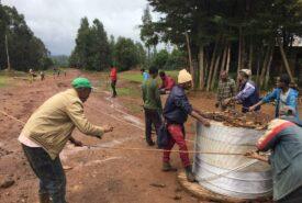 Elettrificazione villaggio di Nadene